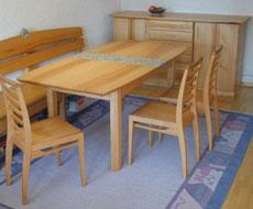 freie holzwerkstatt freiburg tisch stuhl bauen. Black Bedroom Furniture Sets. Home Design Ideas